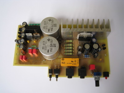 Main board, top view