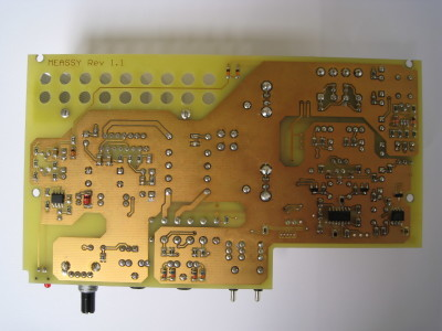 Main board, bottom view
