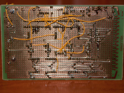 Prototype board - Bottom view