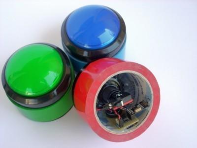 Inside a button
