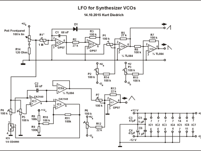 Analog Synthesizer - Elektor LABS | Elektor Magazine