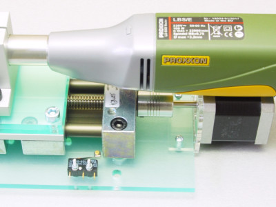 Model of an improved Z-axis with an Igus SLW1040 linear guide