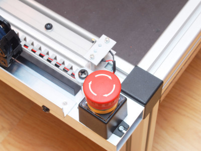Machine kill switch for added safety