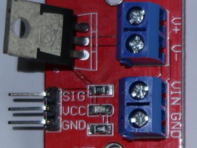 module FET de contrôle de guirlandes