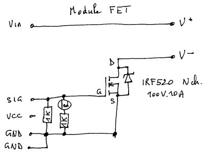 module FET (reverse engineering)