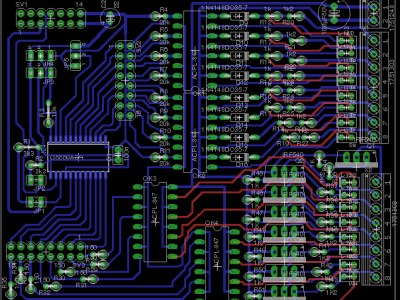 PCB of the 24 Volt module.