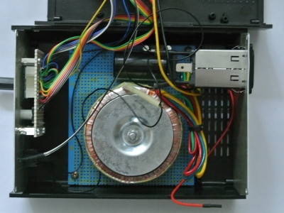 Power supply of the first solder station