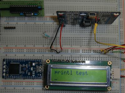 printl from LPC8xx - Arduino - mbed