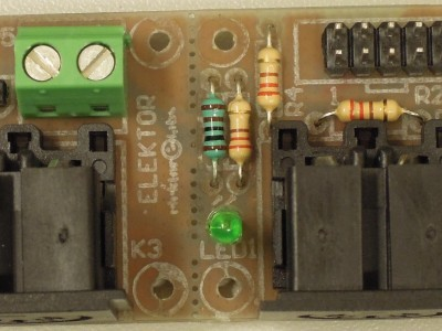 Prototype of Midi Analyzer Light 150169-1 v1.0