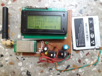My handheld receiver Prototype