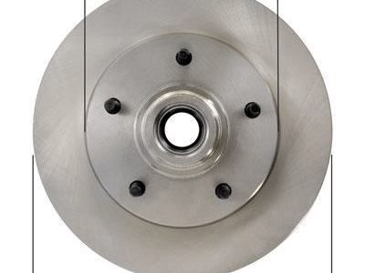 Brake rotor used as our base for the MLP.