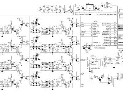 Schema detections 8 convoys with RailCom©