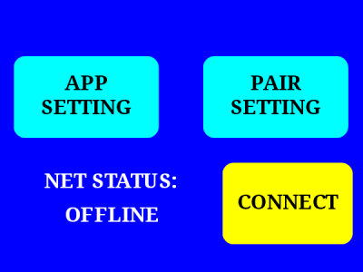 main screen of Android Application