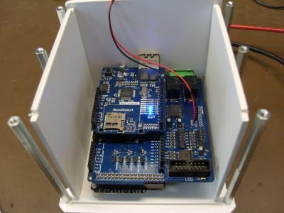 Bild 10: Erster Aufbau