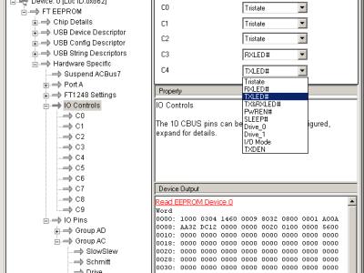 Screendump of FT_Prog: setting C3 and C4