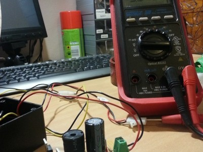 5 Volt Switched power supply and 3.3V linear low dropout regulator