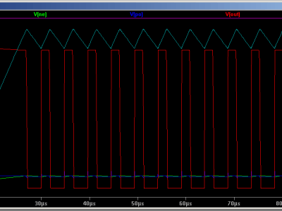 Inductor based LED dimming simulation in LTSpice