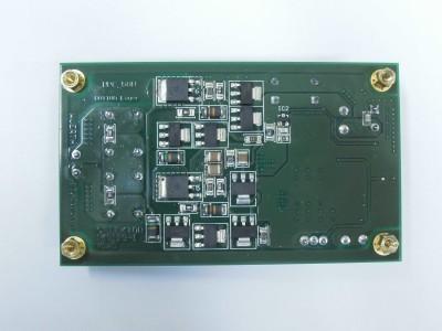 Transmitter bottom view (PCB 160119-1 v1.0)