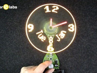 The UltiProp Clock