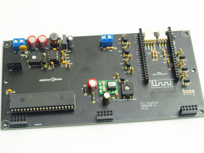 Main PCB without ESP-32-DevKitC module