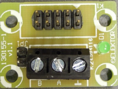 130155 RS485 Module for ECC