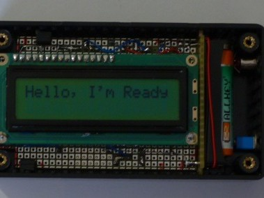 Receive a message by Bluetooth 2.0 (4.0) on a display with charger