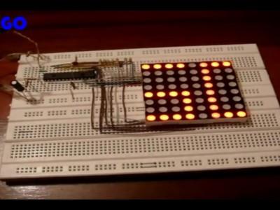 8X8 LED MATRIZ