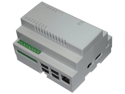 DinRPi - DIN rail mountable enclosure for your Raspberry Pi