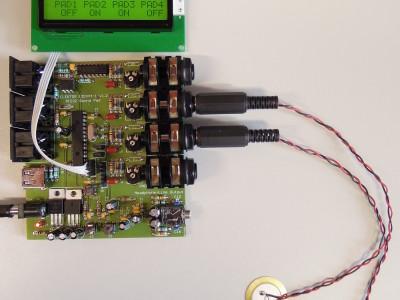 PIC32 Sound Pad