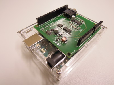 Software Defined Radio (SDR) shield for Arduino [150515-1