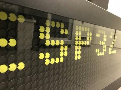 Dot-message board and messaging platform