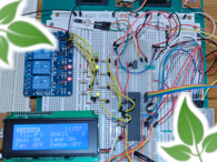 Greenhouse Environmental Controller (Temperature-Humidity-Lighting)