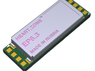 Heart.Zone ECG micro-module for earphones