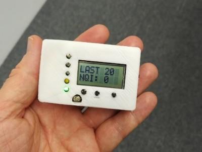 Portable display PM2.5