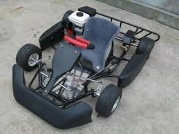 race go-kart conversion to electric