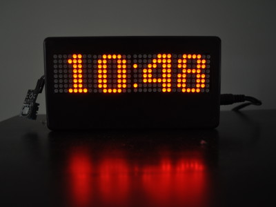LED Matrix Clock / Weather Forecaster
