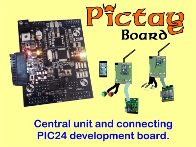 PICTAVE ; the Development Board  / Central Unit