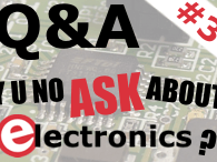Q&A on Electronics (Session #3 - June 11, 7PM CEST / 1PM EDT)