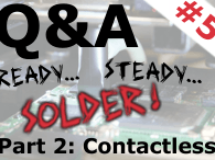 Q&A on Electronics (Session #5 - October 8, 4 PM CEST / 10 AM EDT)