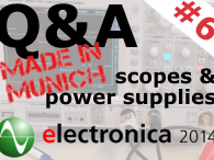 Q&A on Electronics (Session #6 - November 12, 4 PM CEST / 10 AM EDT) | Live from electronica fair, Munich