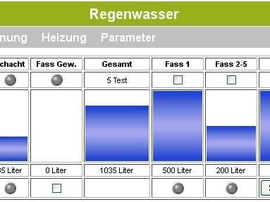 Elektor RS485 Bus- Füllstandsmessung / Nachspeisung