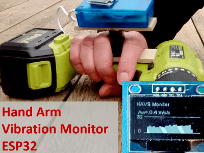 Hand Arm Vibration Monitor