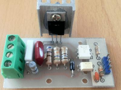 How to build a digital 220V AC dimmer [using Arduino]