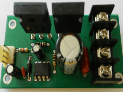 A Powerful 30A DC Motor Driver using Power Mosfets [PWM Controlled, Half Br