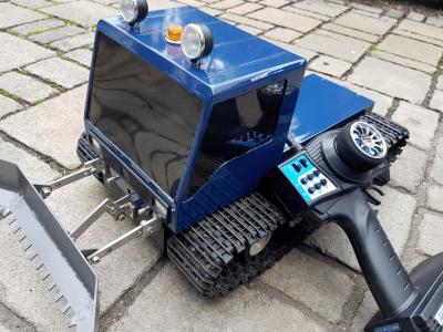 Idealer RC Kreuzmischer für Kettenfahrzeuge, Schiffe m.2 Schrauben, Roboter