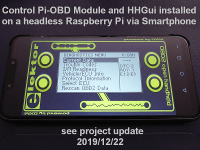 OBD2 for Raspberry Pi