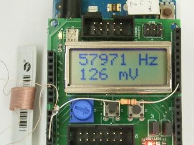 Magnetische Resonanzen an akustomagnetischen Etiketten