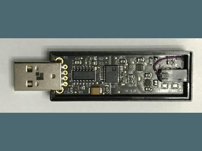 Voltmeter USB key