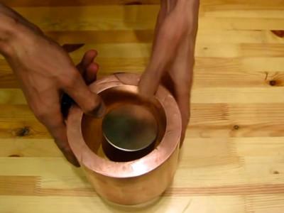 Ist Kupfer doch magnetisch?