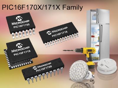 8-bit-Mikrocontroller mit analoger Peripherie von Microchip
